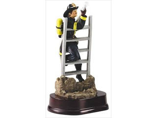Fireman-on-ladder